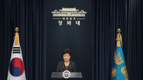 La présidente Park Geun-Hye officiellement destituée.