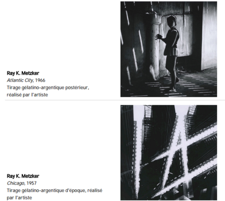 Exposition : Ray Metzker, Abstractions