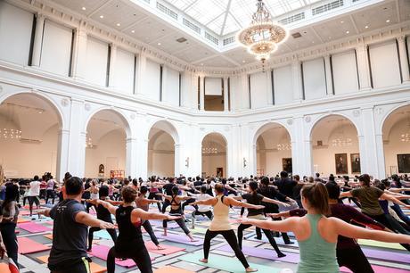 Yoga au Brooklyn Museum, NY