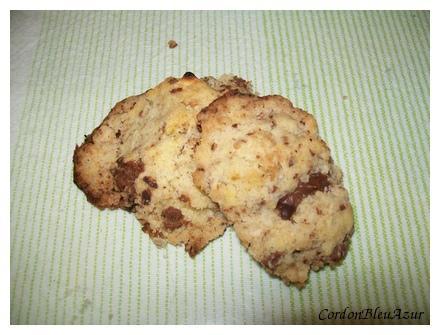 Cookies croustillants aux jaunes d'oeufs et à la végétaline