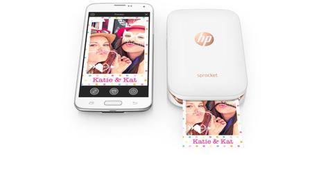 HP Sprocket : une imprimante qui se tient dans une poche