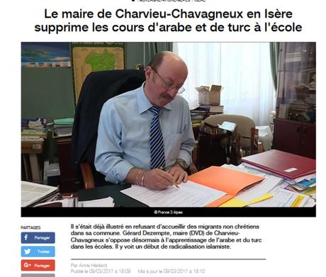 Charvieu-Chavagneux : le maire s'illustre encore par ses symptômes de #PesteBrune