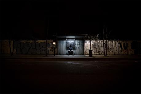 Abri de nuit - photographie de nuit
