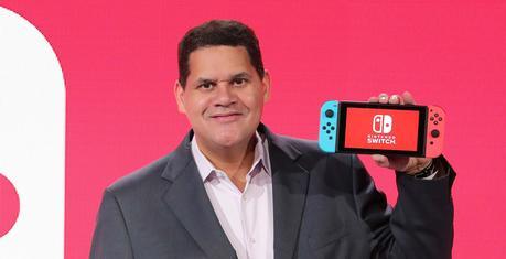 Reggie Fils-Aimé, PDG de Nintendo of America, lors de l'événement de janvier dernier.