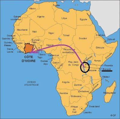 la côte d'ivoire ceoumême et cekoimême ?
