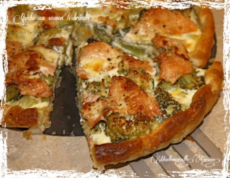 Quich Saumon fumé & Brocolis