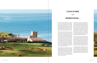 Intermezzo sicilien, mon billet dans le magazine 95° - Printemps 2017