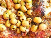 Poulet olives