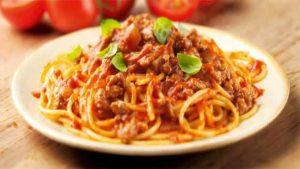 spaghetti bolognaise cookeo