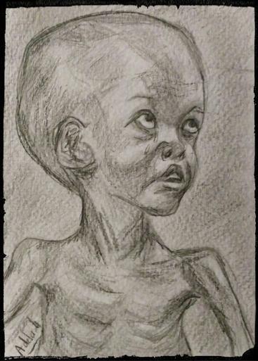Le regard de la famine