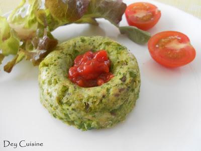 Galettes veggie multi graines