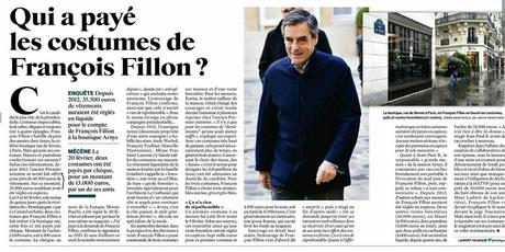 Les costards de Fillon