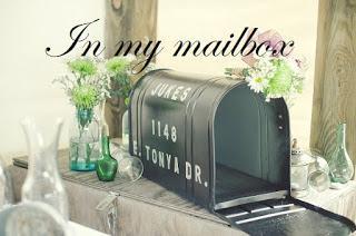 In My Mailbox #115 ( dimanche 12 mars 2017)