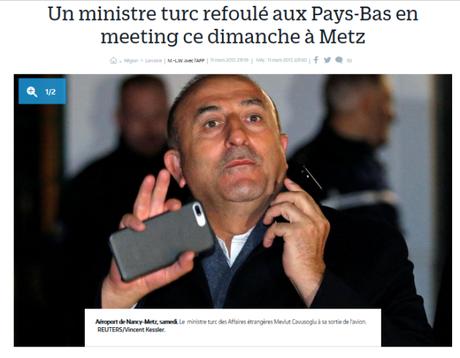 #Metz : Hollande et Cazeneuve complices du dictateur #Erdogan