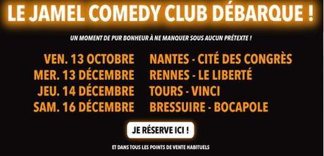 La troupe du Jamel Comedy Club débarque à Nantes, Rennes, Tours, Bressuire