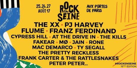 ROCK EN SEINE - Les 25, 26 et 27 Août 2017 - Domaine National de Saint-Cloud
