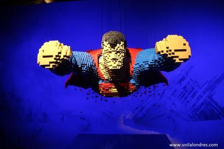 Art of the Brick DC Superheroes 4