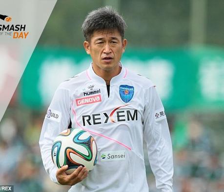 Ce footballeur japonais est toujours professionnel à plus de 50 ans, un record !