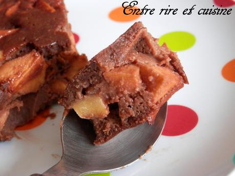 Gâteau fondant au Chocolat {sans beurre, sans gluten}