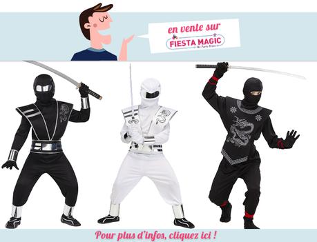 Deguisement Ninja enfant 8/10 ans