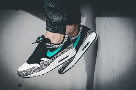 Atmos x Nike Air Max 1 Elephant Premium On Feet