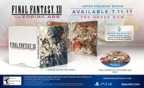 Colletor – Final Fantasy XII The Zodiac Age dévoile ses éditions spéciales