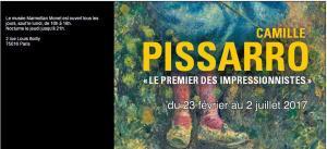 Musée MARMOTTAN MONET jusqu'au 2 Juillet 2017- « Camille PISSARO-le premier des impressionnistes »
