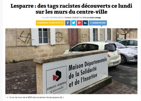 le #FN, pas raciste ? SI. Encore une preuve :