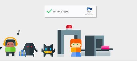 Google : «I'm not a robot»
