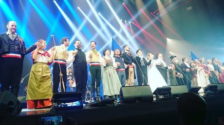Les Misérables en concert à Paris