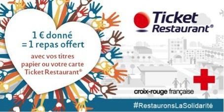SOLIDARITE: et si vous donniez vos titres-restaurants 2016 périmés à la Croix-Rougefrançaise ?