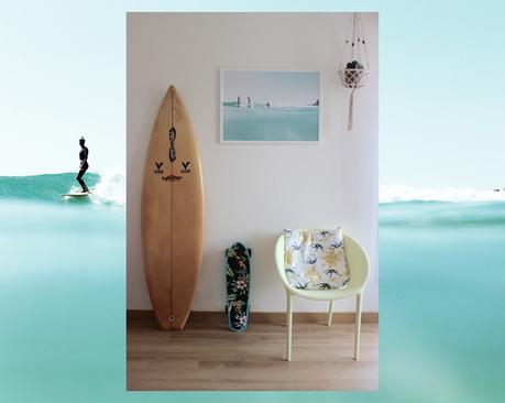 L'affiche Moderne Surfe
