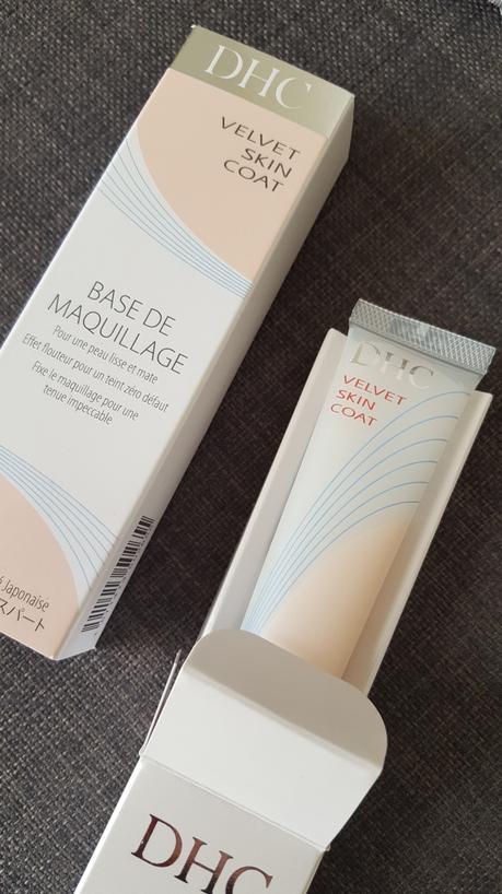 #Makeup, Velvet skin coat de DHC c'est la base !