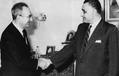 Hommage au Président Nasser. Par Roger Garaudy (1970)