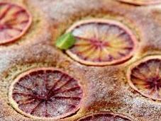 Gâteau l'orange sanguine