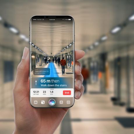Siri prend forme avec cet iPhone 8