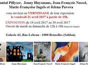 Marie-Françoise ami(e)s exposent Sablons Bruxelles