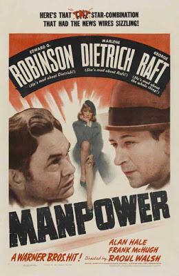 L'Entraîneuse fatale - Manpower, Raoul Walsh (1941)