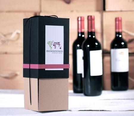 Selfpackaging wines