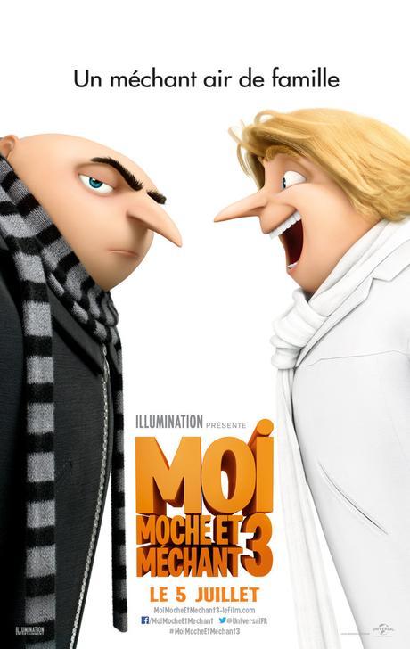 MOI MOCHE ET MECHANT 3 au Cinéma le 5 Juillet 2017 #MoiMocheEtMéchant3