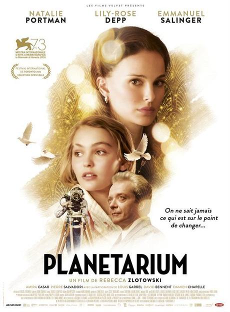 PLANETARIUM – NATALIE PORTMAN – DVD - VOD - BLU-RAY