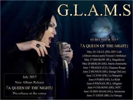[Concert] Mikaru de retour à Paris avec G.L.A.M.S le 4 juin !