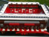 reconstruit stades Premier League Lego