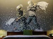 dystopie g(r)affeur (2/2) Banksy Walled Hotel Bethléem