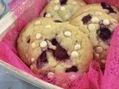 Cookies framboise chocolat blanc