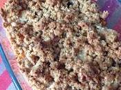 Crumble potiron (sans sucre)