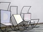 Salle d'attente collection chaises d'Elvire Bonduelle