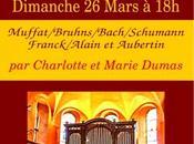 heure d'orgue Saint-Rambert-en-Bugey avec Charlotte Marie Dumas dimanche