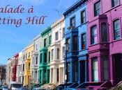 Balade dans quartier Notting Hill