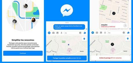 Facebook Messenger propose de localiser ses amis en temps réel… Intrusion ou utilité ?